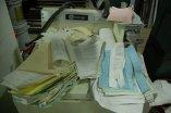 zniszczone dokumenty
