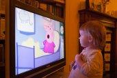 Dziecko przed tv